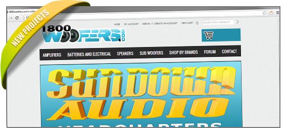 1800WOOFERS.COM v.2 New Store Re-design