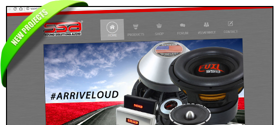 SSAudio.com New Products Page