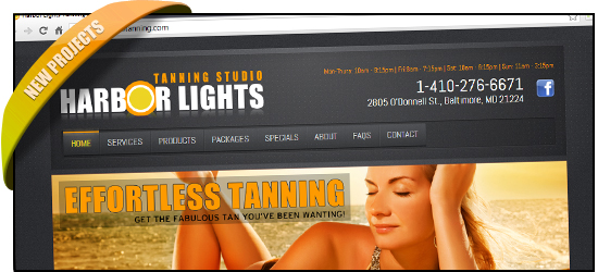 Harbor Lights Tanning Studio has a new glow