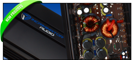 All New 2013 Incriminator Audio Amps