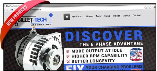 Billet-Tech Alternators Website, Now Live!