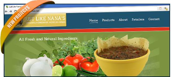 Just Like Nana's, Original Homemade Mexican Salsa