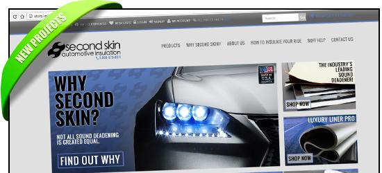 Second Skin Audio New BigCommerce Store