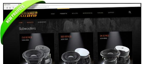 SundownAudio.com complete redesign